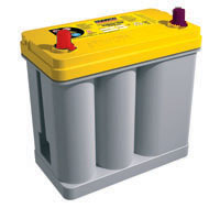 OPTIMA Yellow top Deep Cycle D51DA Top post battery SC51DA - Click Image to Close
